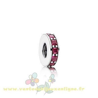 Beau Bijoux Pandora Pandora Espaceurs Charms Eternity Spacer Synthetic Ruby